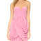 Zimmermann draped dress - rosa