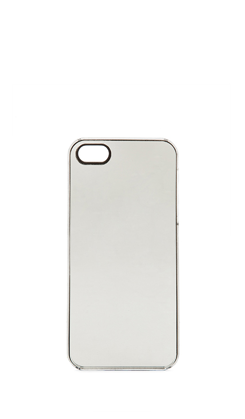 Zero gravity silver mirror iphone 5 case from revolveclothing.com