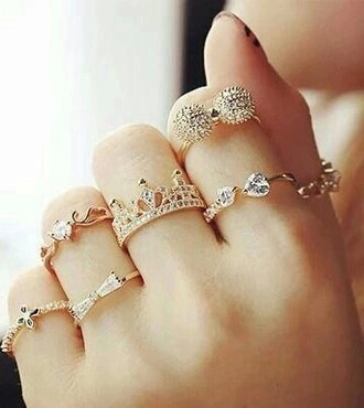 jewels cute jewelry golden rings silver ring