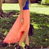 dress,coral