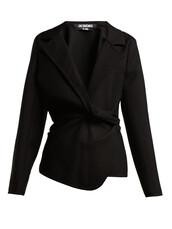 jacket,wool jacket,wool,black