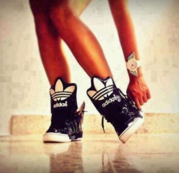 shoes adidas adidas shoes adidas shoes black wings white snikers adidas originals hightop sneakers extaball adidasextaball cute hip tennisshoes