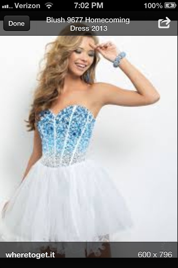 dress homecoming dress