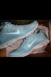 shoes,light blue,tiffany blue nikes,nike,nike running shoes,nike roshe run,nike shoes womens roshe runs,roshe runs
