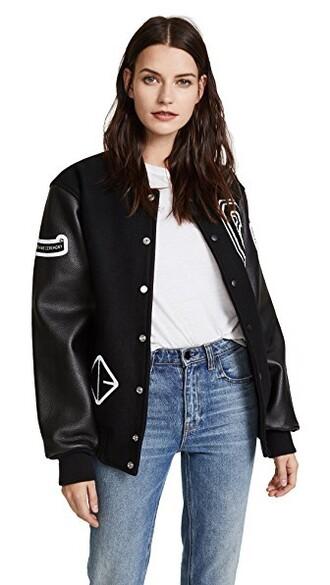 jacket varsity jacket varsity black