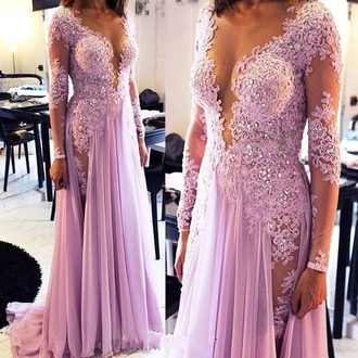 dress pink dress long-sleeves prom dress lilac prom dress prom dress prom prom gown lace dress lace long prom dress long sleeve dress long sleeve lace dress long sleeve prom dress long sleeve maxi dress sexy prom dress sequin prom dress formal dress prom dress 2016 2016 prom dresses illusion neckline wedding dresses illusion neckline prom dress pink prom dress gown lace prom dress purple prom dresses purple lavender prom dresses