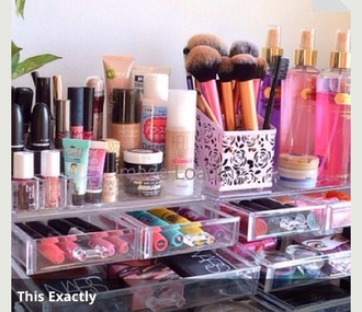 make-up beauty organizer