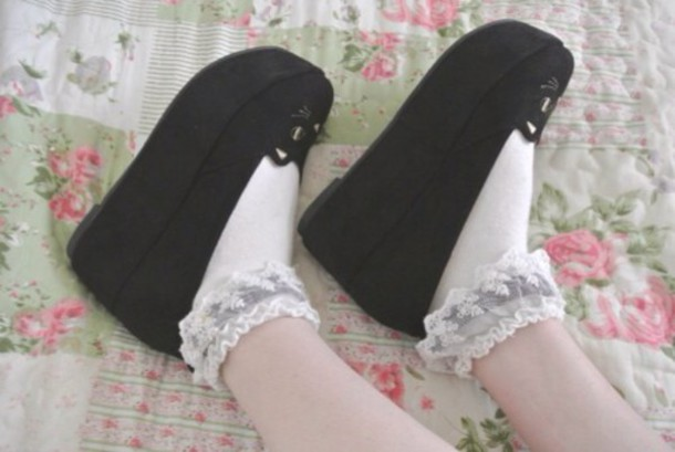 shoes kawaii shoes platform shoes kawaii
