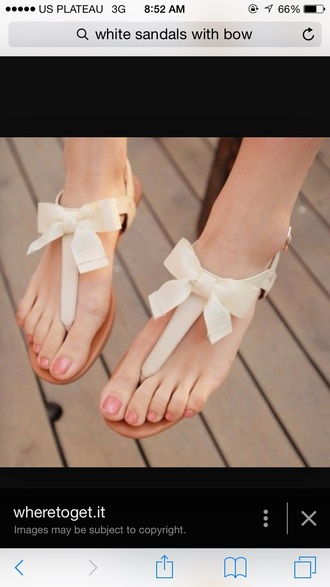 shoes sandals bows