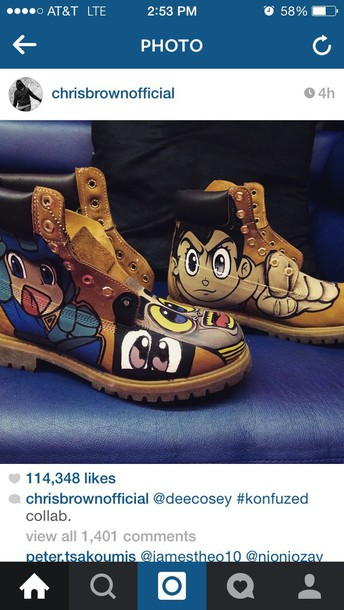 shoes chris brown