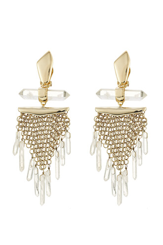 rock mesh gold jewels
