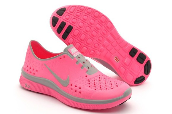 pink shoes coral nike running shoes nike free 5.0