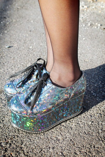 shoes holographic shoes