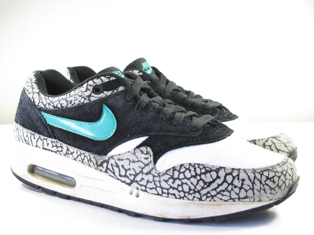 Nike 2007 Air Max 1 atmos Elephant Cement 9 Patta 90 180 Force Trainer Safari | eBay
