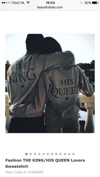 sweater grey comfy trendy jumper couple sweaters cute quote on it funny fashion style beautifulhalo