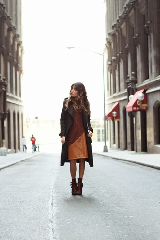 the marcy stop blogger jewels coat boots