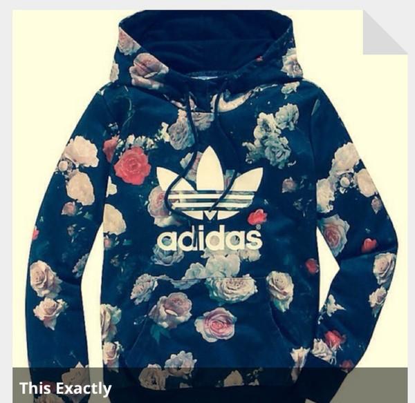 jacket adidas floral hoodie