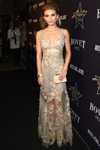 dress gown annalynne mccord red carpet dress wedding dress