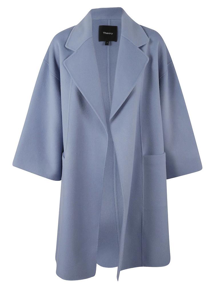 f6a6edbe11a Theory Laurelwood Coat - Black/Classic White. $753$373