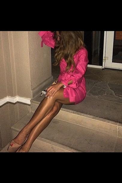 dress pink dress blouse pink sunglasses pink coat pink swimwear pullover black dress black heels black jeans black bikini style fashion skirrt white dress white t-shirt black high waisted pants black t-shirt black crop top pink prom dress shoes side boob pink skirt colorful