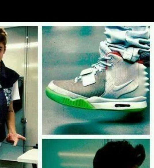 nike shoes justin bieber bizzle. justin. kidrauhl. swag. black. white. pretty. cutw