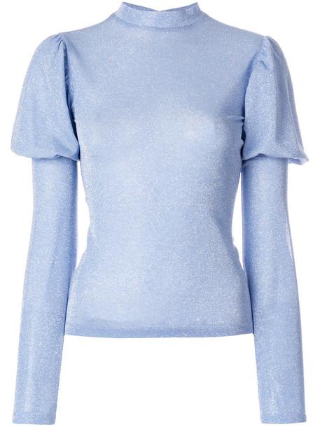 VIVETTA top women spandex blue