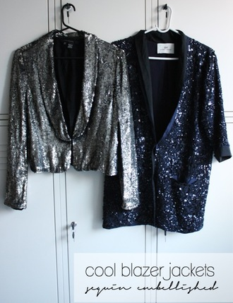 jacket fashion blazer sequins sequin jacket party clubwear girly