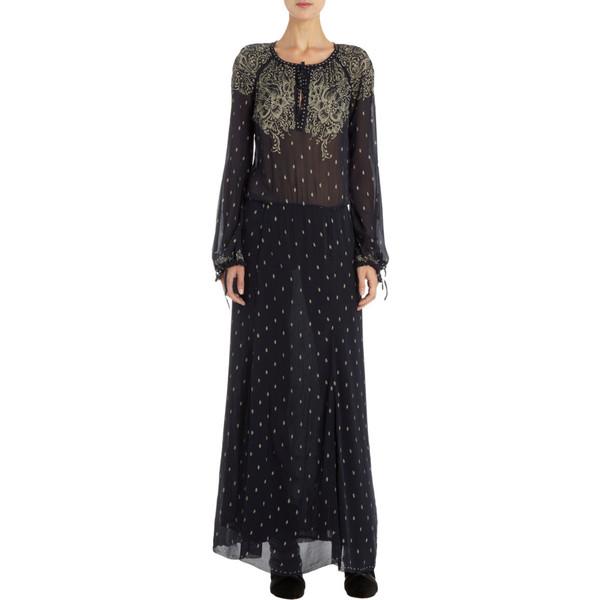 aa600cbe1c4e8 Étoile Isabel Marant Printed Maxi Dress - Polyvore