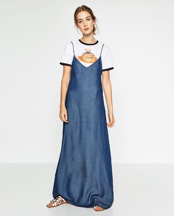 DENIM DRESS - View All-DRESSES-WOMAN - ZARA United States