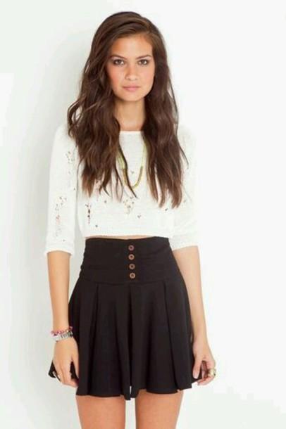 skirt button up skirt blouse