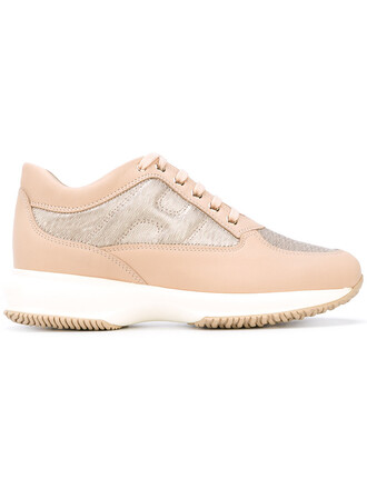 women sneakers leather nude shoes