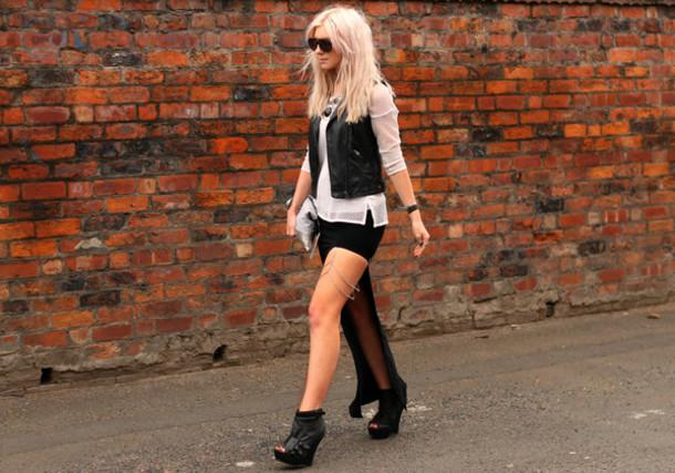 saraluxe jacket bag shoes skirt t-shirt