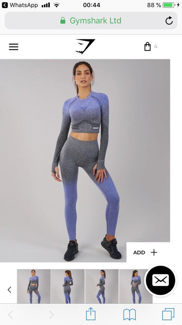 leggings gym shark
