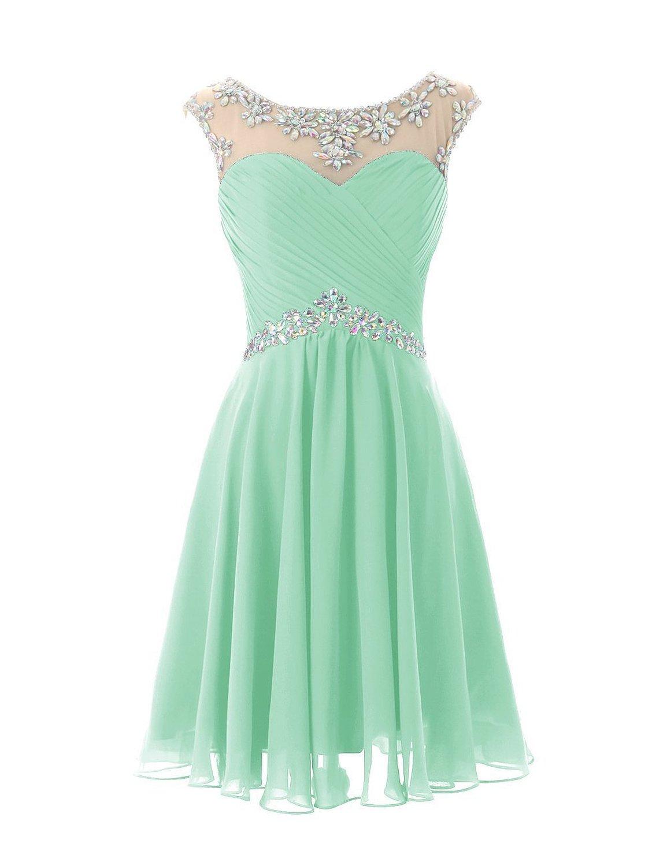 Amazon.com: EnjoyBuys Women's Short Dress Beading Sequin ... - photo #16