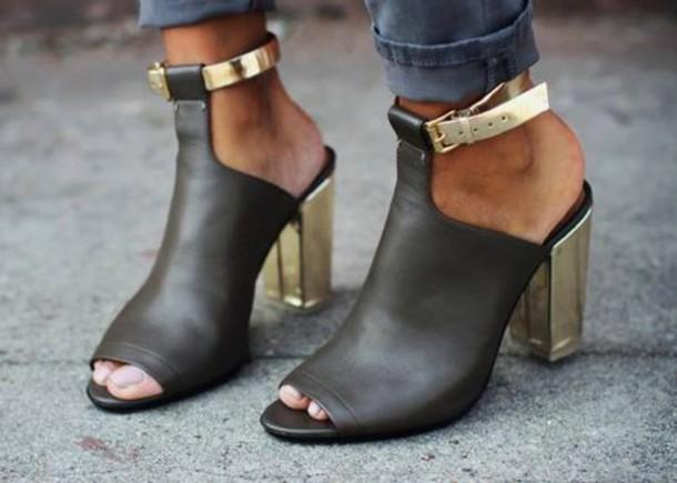 shoes, mule shoe, ankle wrap mule, mule, shoes 2015 ...