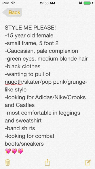 sweater grunge skater nu goth tumblr tumblr girl tumble clothes blonde hair pop punk the story so far man overboard cute help me pls style black black clothoing adidas nike crooks and castles diamond supply co. diamond and crooks mashup grunge t-shirt grunge shoes tumblr outfit edgy