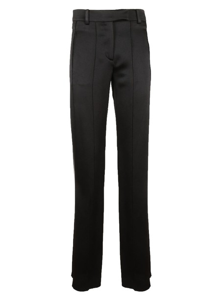 Valentino pants satin black