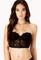 Strapless lace corset bra