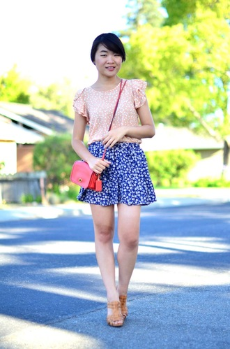 daily disguise top skirt shoes bag