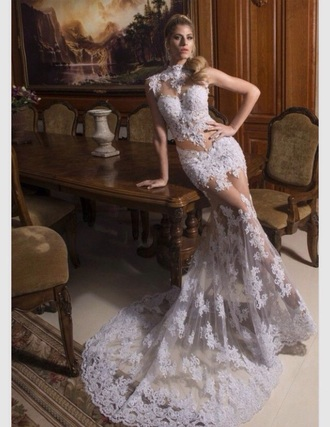 sheer wedding clothes wedding dress