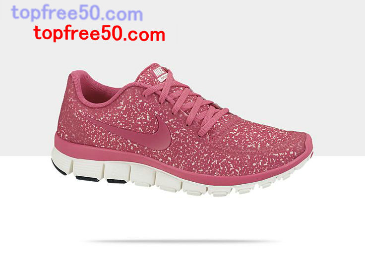 Pink Glitter Nike Running Shoes