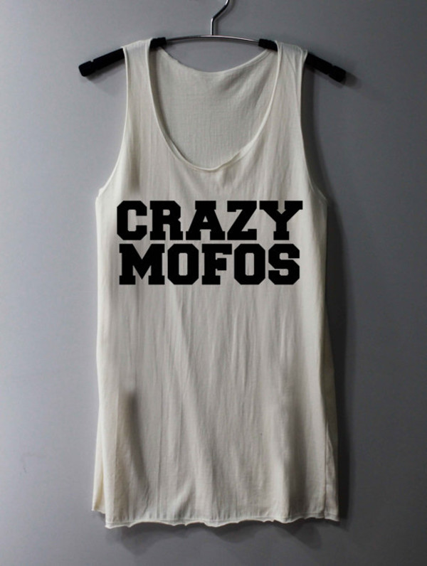 tank top crazy mofos