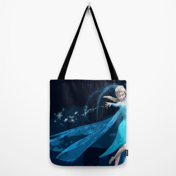 disney bag frozen, elsa, prom, dress, gown, blue, long, sleeveless frozen elsa