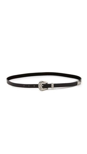 baby belt silver black