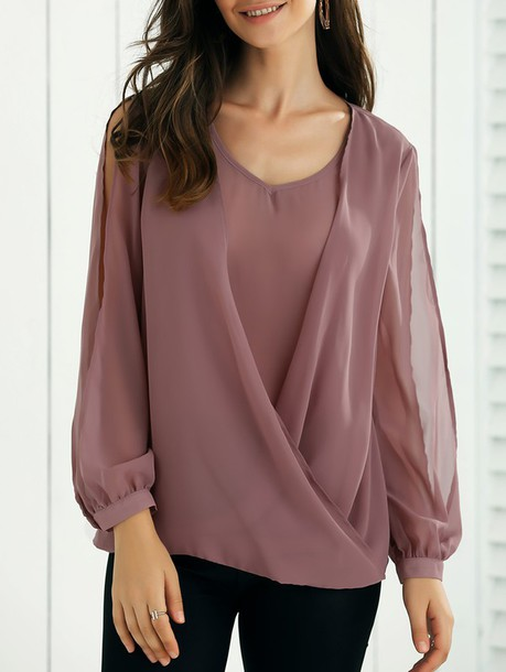 blouse long sleeves long sleeve top long sleeve blouse tumblr instagram