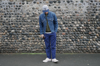 buckets and spades blogger menswear mens jacket cap mens sneakers