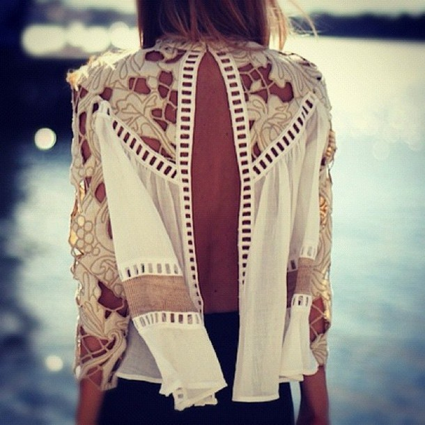 shirt clothes top blouse open back swimwear