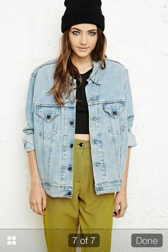 jacket denim cute tumblr girl light acid wash shoes