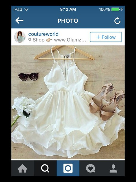dress off-white
