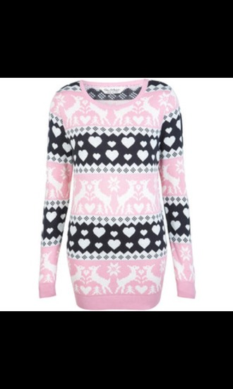 sweater christmas christmas sweater snow heart